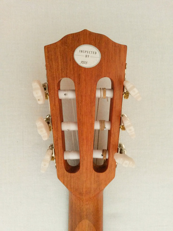SCOTTSDALE, ARIZONA - CIRCA NOVEMBER 2015: Fender classical guitar ESC105 Educational series