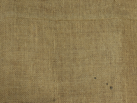 beige fabric hessian burlap texture useful as a background Stock Photo