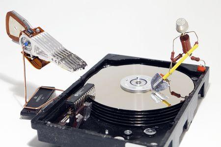 HDD repair photo