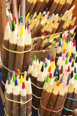 wax color pencils photo