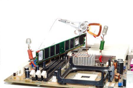 computer repair or memory upgrade Stock Photo - 2711968