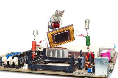 upgrade: computer repair or processor upgrade