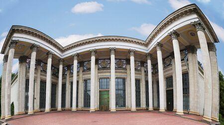 neoclassic: soviet neo-classic architecture - fish-eye panorama