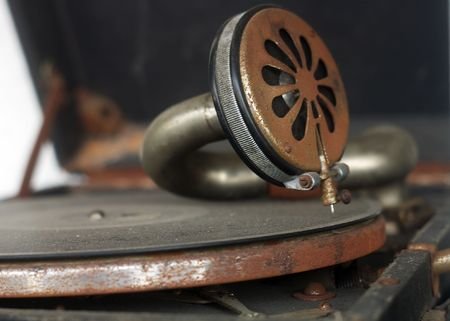old fashioned Gramophone