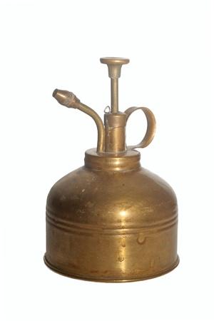 Antique brass sprayer Stock Photo - 8925848