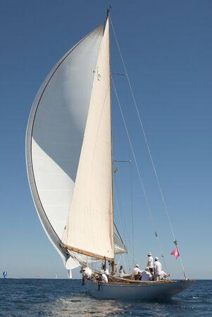 regatta: Imperia,Liguria,Italy 8-12 September 2010 16° Race Vele d Epoca di Imperia Trofeo Panerai;old yachts in race Editorial