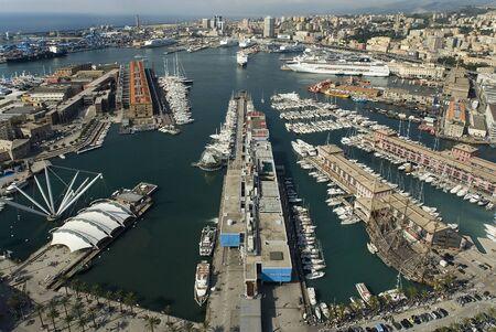 Ansicht von Genua Italien
