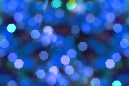 deliberately: Christmas atmosphere,a lights background deliberately out of focus  Stock Photo