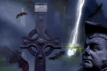 the  Hallowen dark night Stock Photo - 16000102