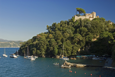 view of Portofino,Liguria,Italy