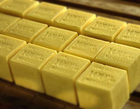 ordelijk: geurig natuurlijk gele zeep ordelijke