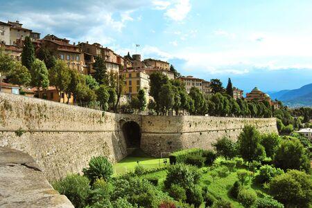 bergamo, venetian walls photo