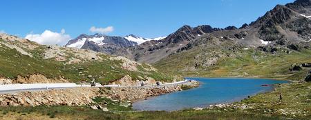 gavia: gavia pass, white lake