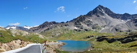 gavia pass white lake photo