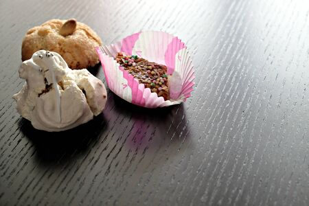 three typical sardinian sweets