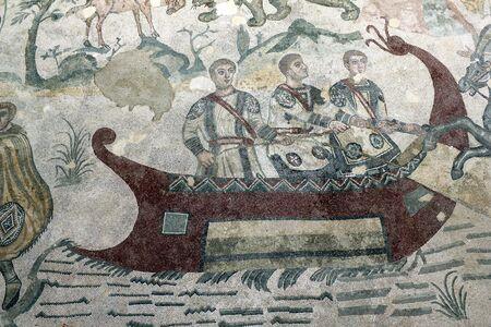 mosaic piazza armerina Editorial