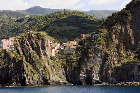 Manarola, gulf of Poets, Cinque Terre, La Spezia, Liguria, Italy