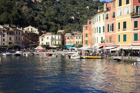 Portofino (GE), Italy - June 01, 2017: Portofino, Genova, Liguria, Italy