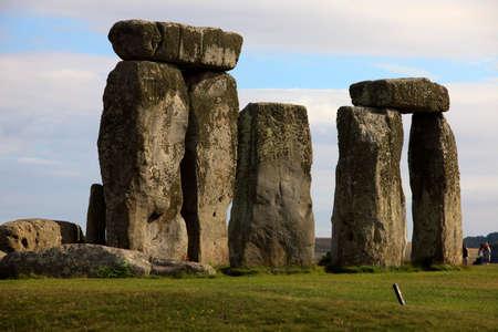 Stonehenge (England), UK - August 06, 2015: Stonehenge megalithic site, Amesbury, Wiltshire , England, United Kingdom.