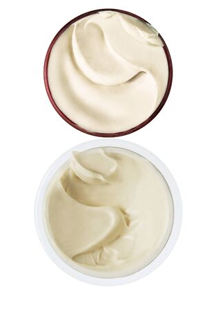 creme cosmetic foundation  Stock Photo - 15487161