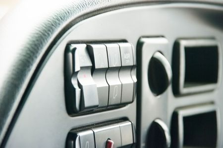 The panel of devices of a lorry