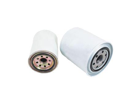 Filtros de aceite reemplazables para el servicio del motor del coche Foto de archivo - 6993530