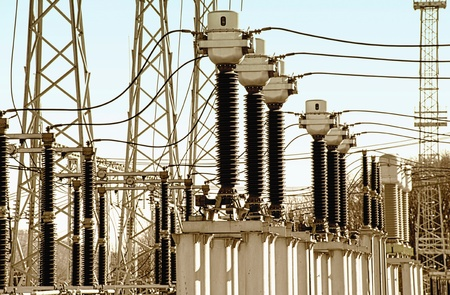 Supply of electricity in a network on substation
