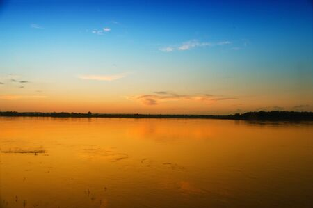 image of river zee in russia at a decline Stock Photo - 8627933