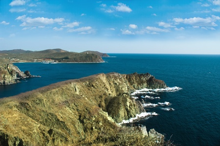 view from mountain on japan sea in russia Stock Photo - 9063817