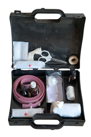 An image of first-aid kit - detail photo