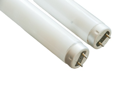 the two  fluorescent lamp set is isolated