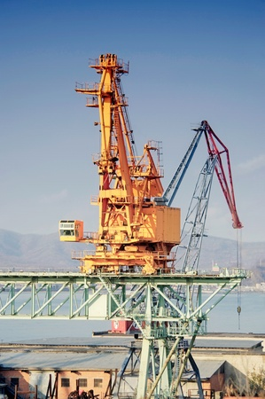 City nakhodka in russia trading see port an elevating mechanism photo