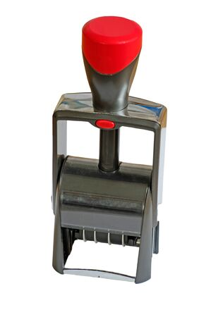 validez: moderno auto-tinta sello de goma en el fondo blanco Foto de archivo
