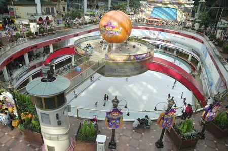amusement park Lotte World  at Seoul Korea Editorial