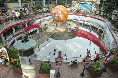 amusement park Lotte World  at Seoul Korea Editorial