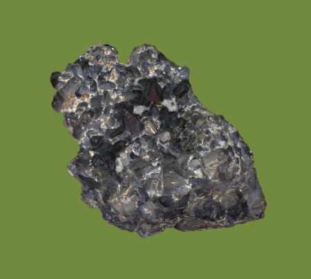 sulfide: pyrrhotite iron sulfide blende mineral Stock Photo