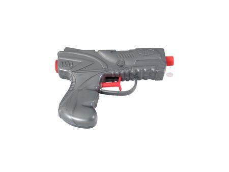 Juguete pistola de agua, sobre fondo blanco con Foto de archivo - 362937