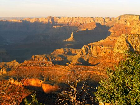 Grand Canyon sunset from Grandview Point