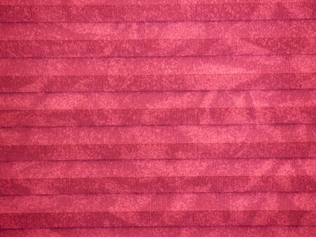 Pleated blind or shade, magenta, background texture
