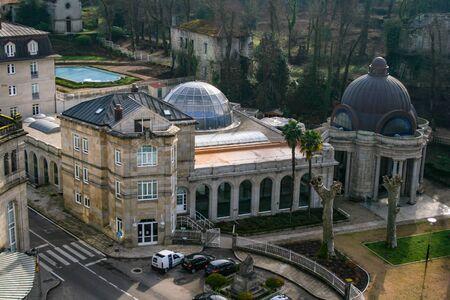 Main facade of the Gandara Fountain, Galicia