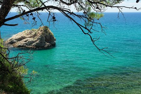 Holidays in Greece 스톡 사진