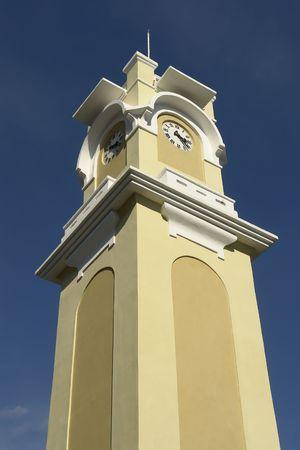 Tower clock in Xanthi town, Greece