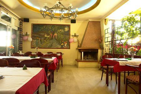 Traditional restaurant Stock Photo