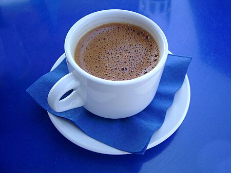 Greek coffee Stock Photo