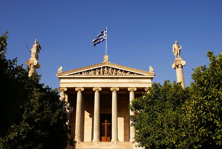 Academy in Athens, Greece