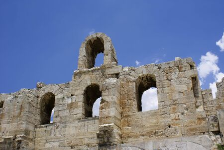platon: Herodion theater under Akropolis in Athens, Greece