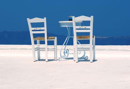 Table on terrace Stock Photo - 1920264