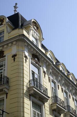 thessaloniki: Historic building in Thessaloniki town, Greece