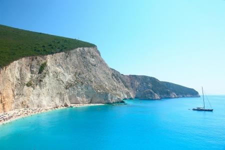 Porto Katsiki beach, Lefkada Greece