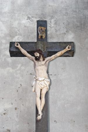 Jesus Christ on the Cross of iron photo